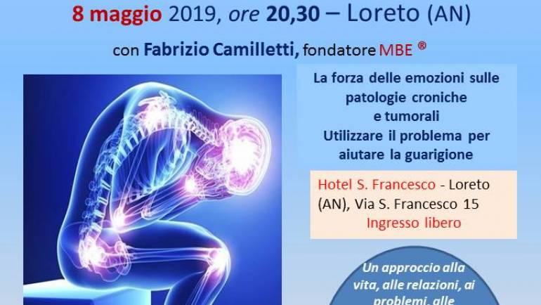 Patologie croniche e tumori a Loreto (AN), 8 maggio 2019