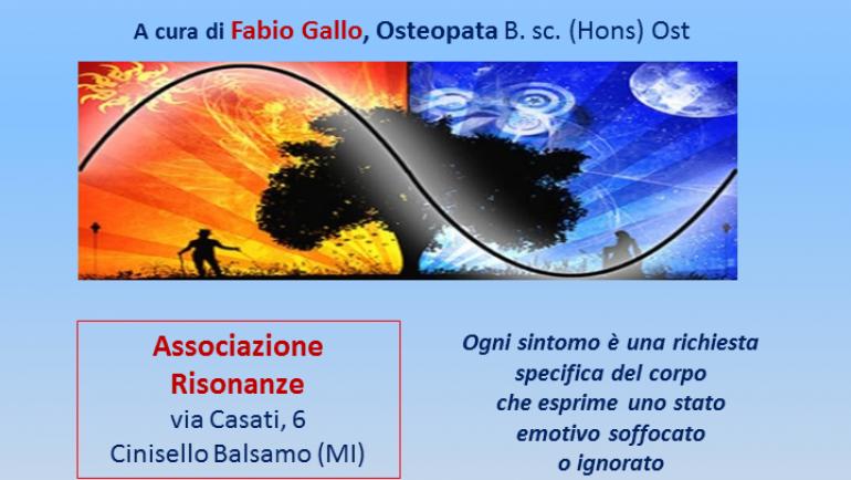 Introduzione alla Medicina Biologica Emozionale. ven 19 aprile 2019 a Cinisello Balsamo