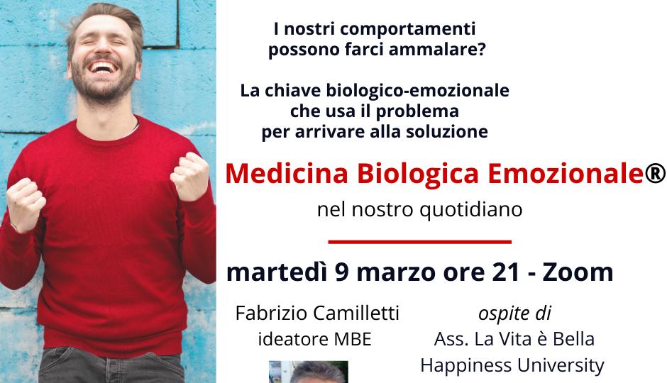 Medicina Biologica Emozionale nel nostro quotidiano, il video dell'evento del 9 marzo 2021